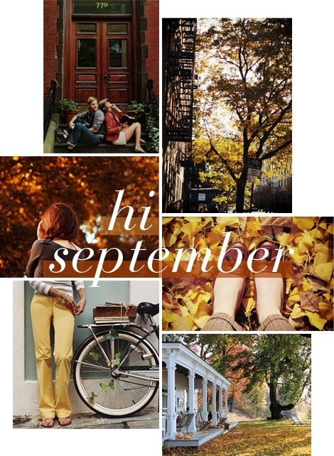 HELLO September !!! HELLO Fall!!!  Beautiful  Pinterest