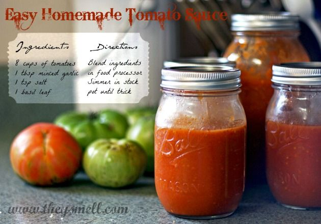 sauce is beautiful! Great way to use up the tomatoes in our garden ...