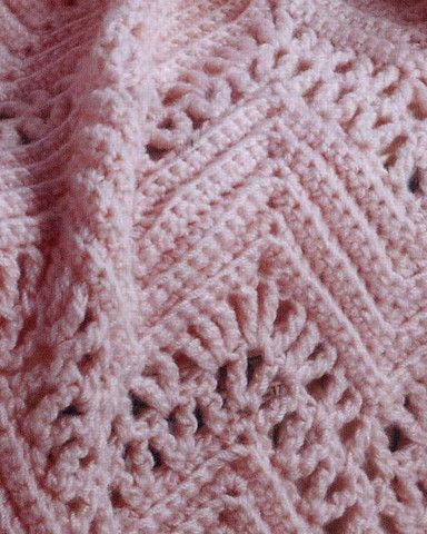 Double Crochet Ripple Baby Afghan Pattern : Learn to Crochet Ripple Afghans
