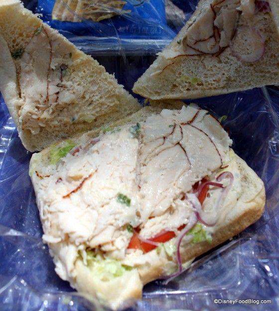 Yak & Yeti Asian Chicken Sandwich | disney food | Pinterest