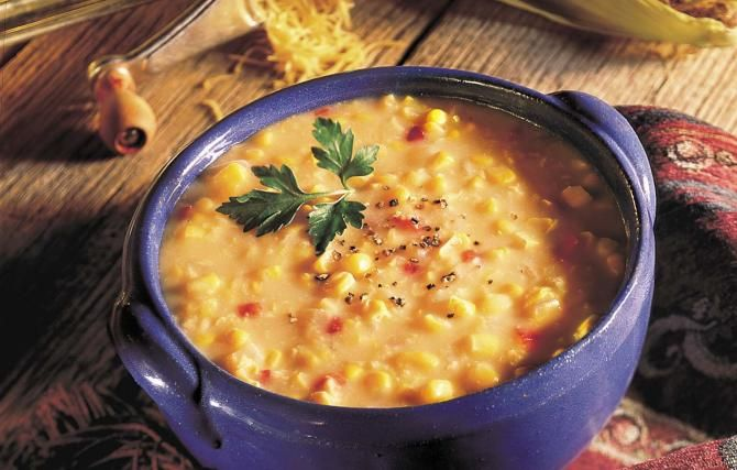 creamy corn and cheddar chowder. | side dishes/salads/soups | Pintere ...