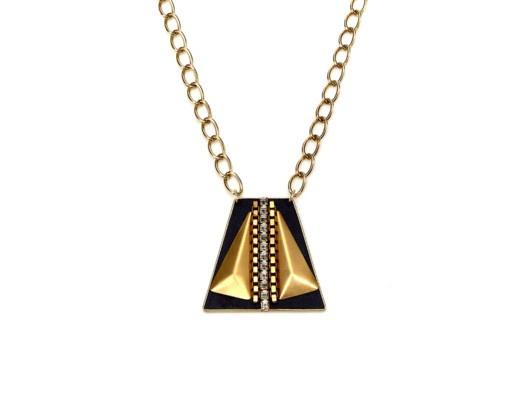 Art Deco Medallion Necklace