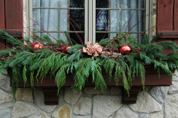 ... by Applying the Flower Box Ideas: Window Holiday Box Ideas Flower
