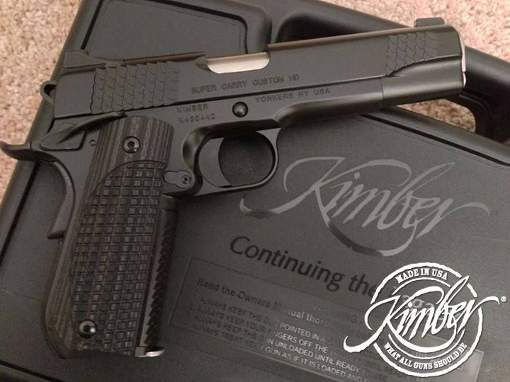 Kimber super carry custom hd