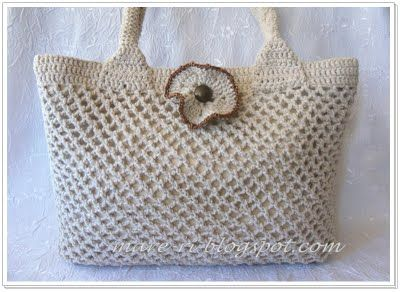 site with nice crochet bags Crafty & Crochet Pinterest