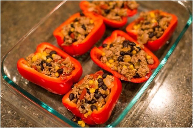 ... stuffed bell peppers vegetarian stuffed peppers fe ta stuffed peppers
