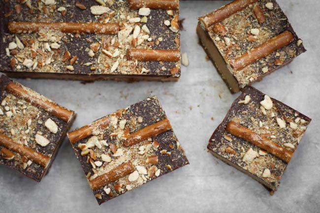 Triple Decker Peanut Butter Brownies Recipes — Dishmaps