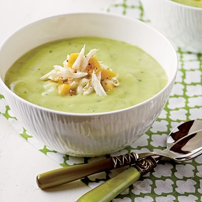 Chilled Avocado Soup | nom nom nom | Pinterest