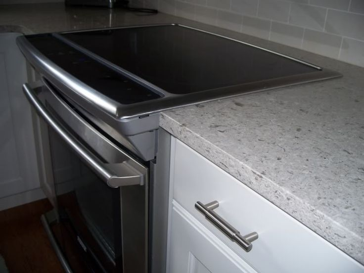 Countertop Flush With Stove : electrolux slide in induction range... Good alternative to gas range ...