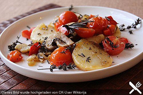 Mediterrane Kartoffelpfanne  Recipe
