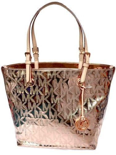 mk rose gold bag i want pinterest. Black Bedroom Furniture Sets. Home Design Ideas