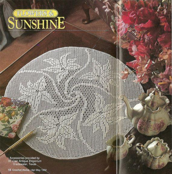 Crochet Home Magazine : Crochet Home Magazine number28, 1992, Crochet doll pattern, crochet a ...