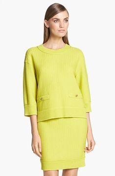 St. John. Yellow Fashion