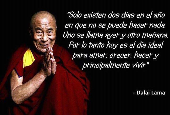 Frase del Dalai Lama | Frases de motivación | Pinterest