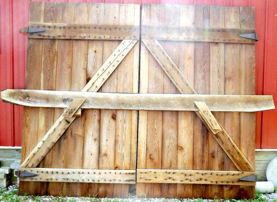Over 100 Year Old Hay Loft Barn doors Mint by daddytellmeastory, $1200 ...