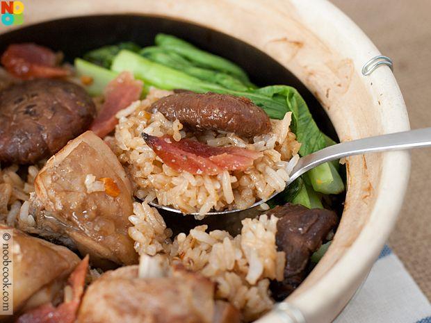 Claypot Chicken Rice Recipe | Recetas | Pinterest