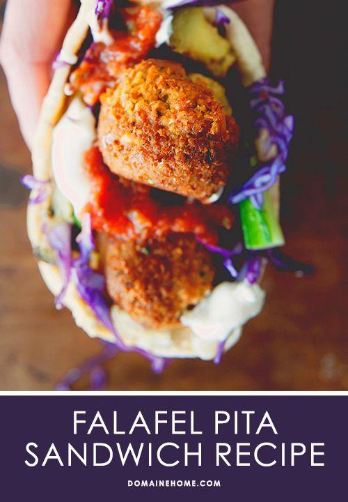 Falafel Pita Recipe