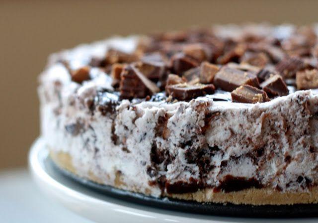 Moose tracks ice cream cake | Recipes | Pinterest