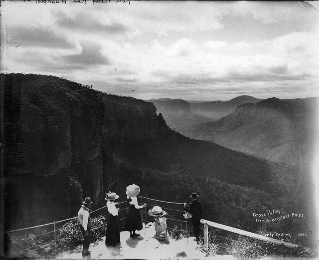 Grose Valley from Breakfast Point, Blackheath circa 1900