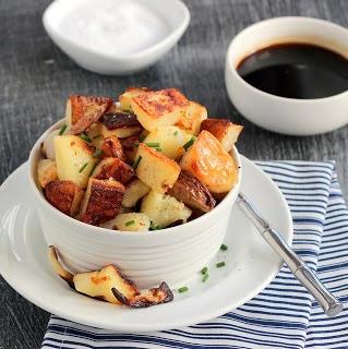 Salt and Vinegar Roasted Potatoes | FOOD! | Pinterest