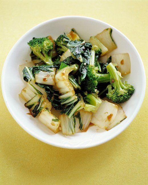 Sauteed Bok Choy and Broccoli -- make a good veggie dish for an asian ...