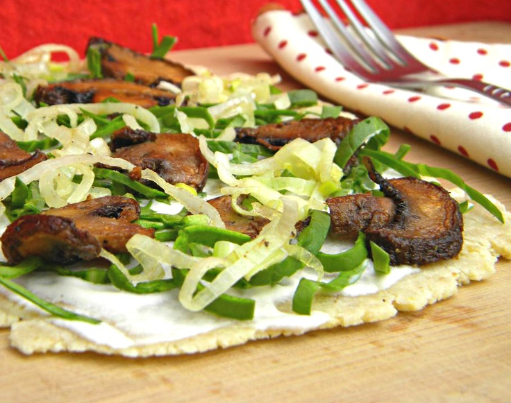 Mushroom, Spinach, And Scallion Tart Recipes — Dishmaps
