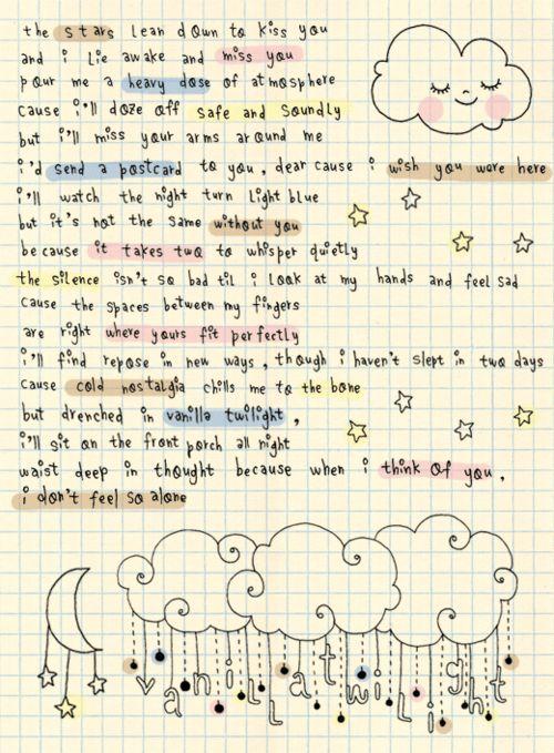 owl city happy valentine's day lyrics