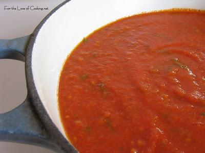... Portobella Mushroom Ravioli with Roasted Garlic and Basil Marinara
