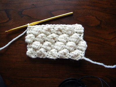 Tunisian Crochet: Honeycomb Stitch Pattern | WIPs 'N Chains