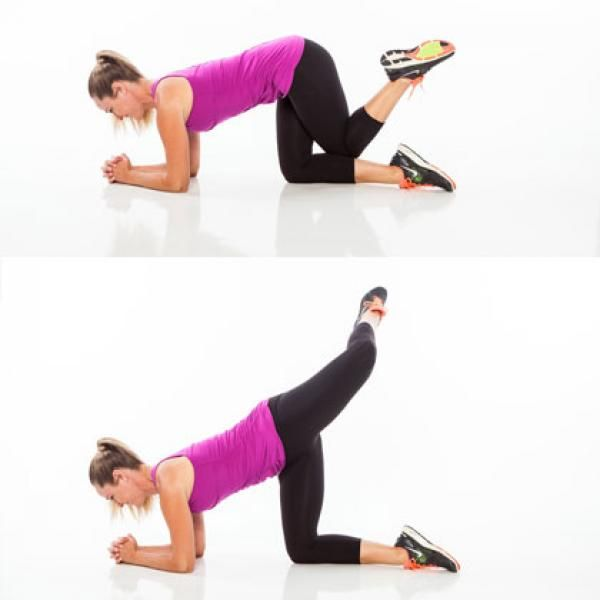 Circuit Workout: Rear Attitude - Lower-Body Workout for Women: 7 Exercises for Toning Your Butt, Thighs, and Belly - Shape Magazine
