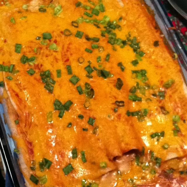 Angela's Awesome Enchiladas from AllRecipes app. More flavorful than a ...