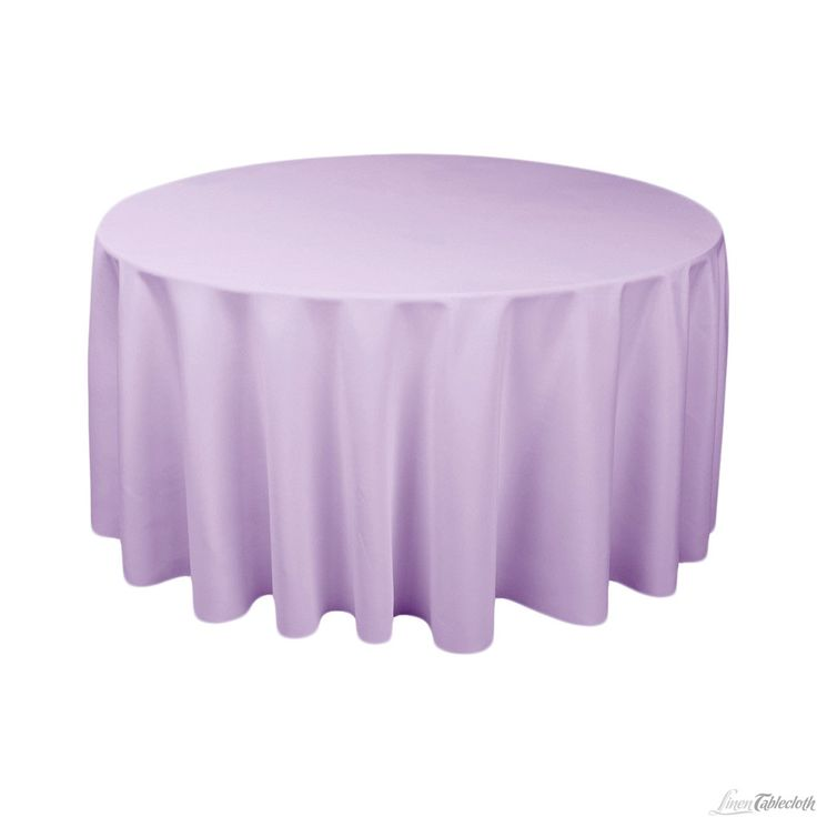 120 in round polyester tablecloth lavender for 120 inch table