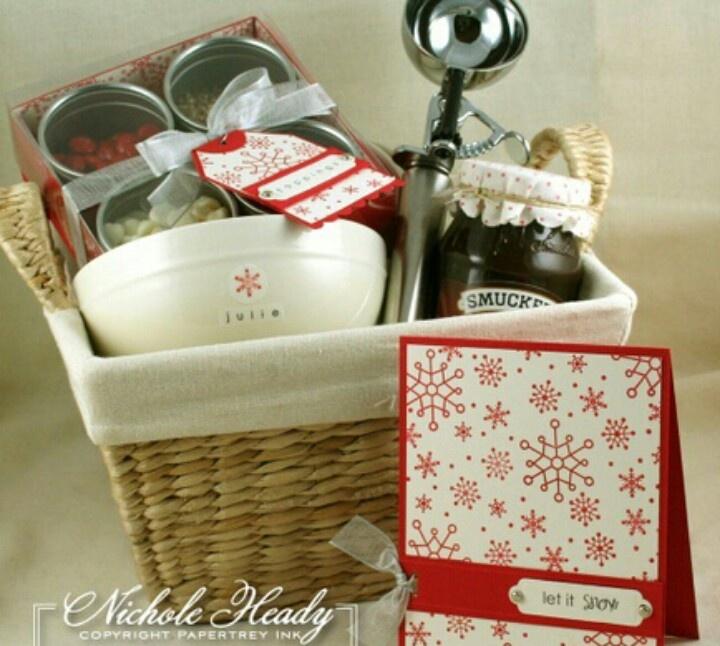 Pinterest gift basket ideas eskayalitim gift basket ideas sundae basket diy crafty pinterest solutioingenieria Gallery