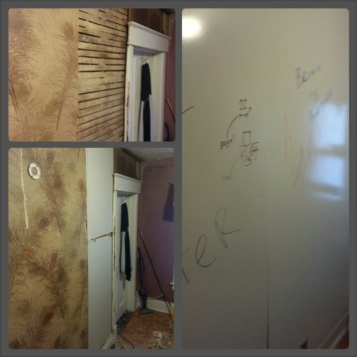 40 dollar white board wall 3 panel boards from home depot sheet rock