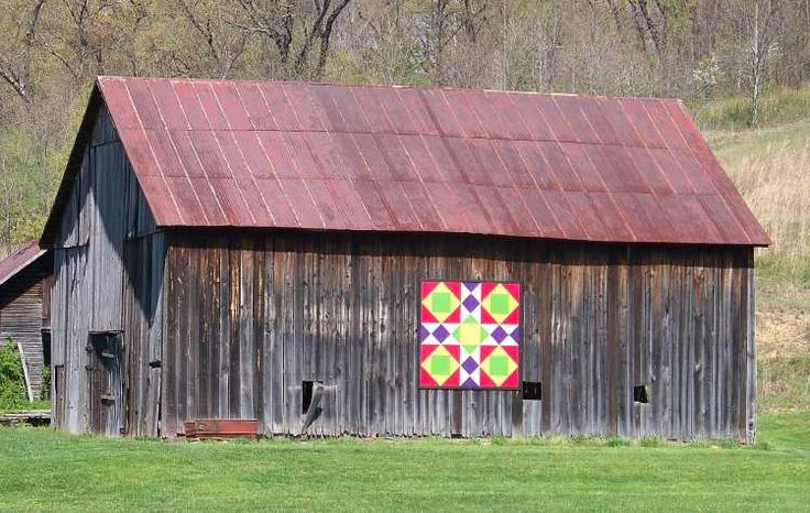 Quilt Patterns On Barns In Ky : Pin by Linda Sevier on barn quilts Pinterest
