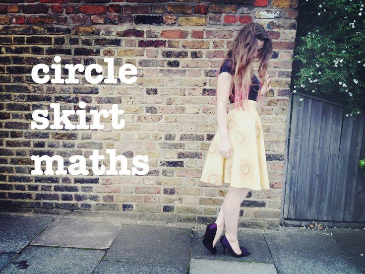 circle skirt math