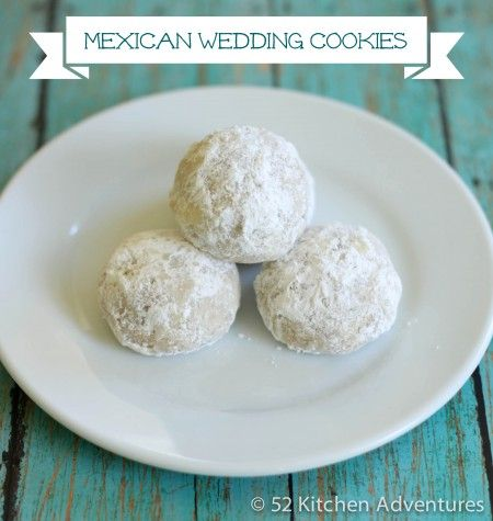 Pistachio Mexican Wedding Cakes Recipe — Dishmaps
