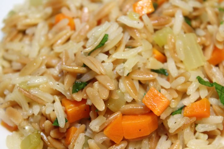 Rice pilaf...I like rice so much that I want to try this.