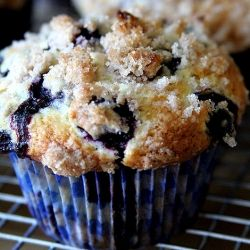 135772 - Blueberry Coffee Cake Muffins - By TasteSpotting