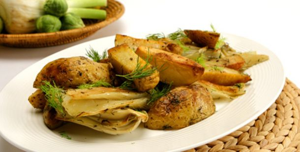 Roasted Fennel and Potatoes | Recipes | Pinterest