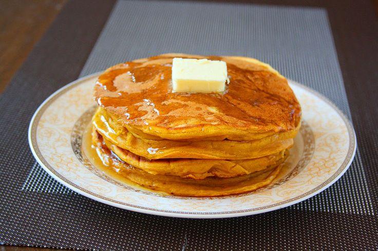 Pumpkin Pie Pancakes | For Breakfast | Pinterest