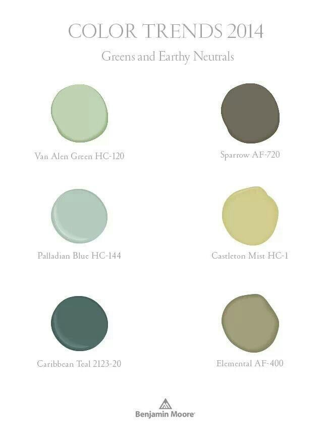 Color trends 2014 | Paint colors | Pinterest