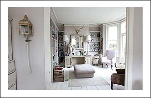 Pale Rooms: White, Cream, and Beige Living Room