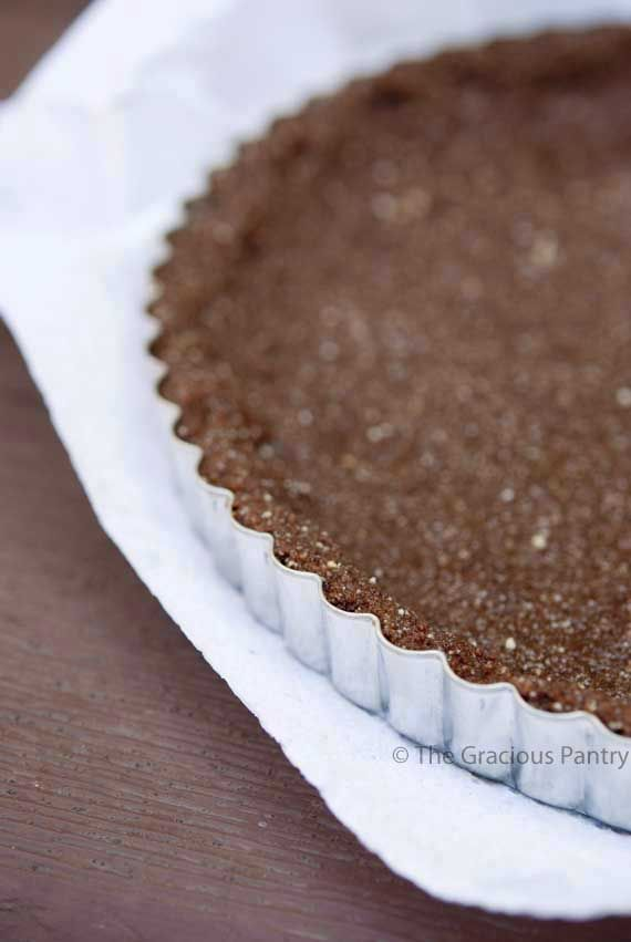Clean Eating Chocolate Pie Crust [Healthy, Gluten-free, Wheat-free ...
