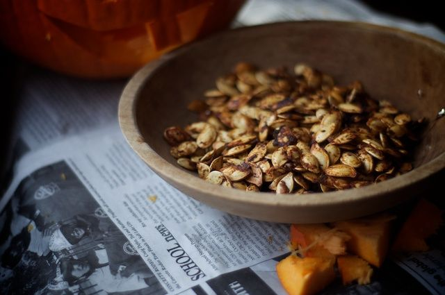 Pumpkin Seeds With Chili and Lime | Pumpkin - Everything | Pinterest