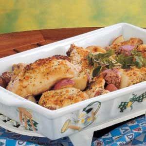 Chicken Potato Bake