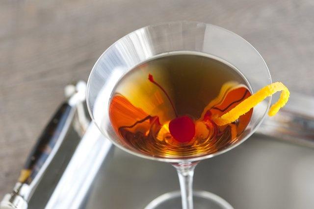 Bourbon Manhattan Cocktail Recipe from www.inspiredtaste.net #cocktail ...
