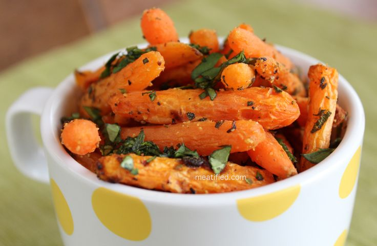 Citrus & Sage Roasted Baby Carrots - Simple & speedy weeknight side ...