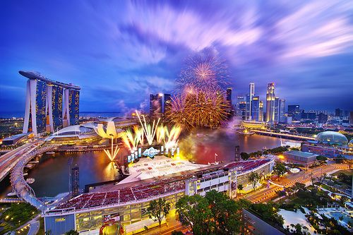 singapore national day flag