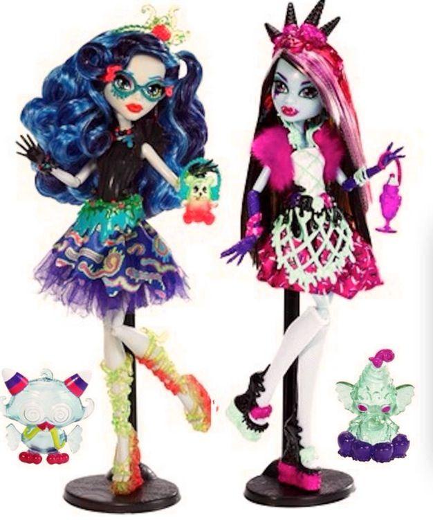 новые куклы монстер хай видео персика